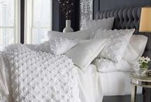 Inspiring Spaces ~ Bedroom / At the end of the day, retire to a space that is all about rest, peace, and rejuvination!