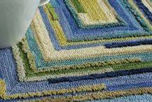 """Favorite Things ~ Rugs / A little bit of """"happy"""" underfoot...rugs bring fabulous pattern, texture, color, warmth, and comfort to any space."""