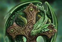 Dragons - fantasy