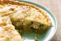 Chicken Quiche Recipes / Rich, savory and so versatile. Quiche is perfect for breakfast, brunch or any meal of the day!