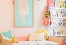 Kids Bedrooms / Ideas for toddler and older children decoration/ themes