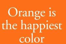 Decor- orange crush