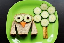 FOOD- Ideas with Kids / who knew playing with your food could be so fun?!