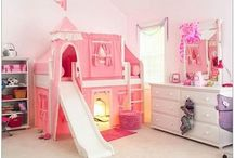 Girls toddler room ideas / by Nahira-William Brown