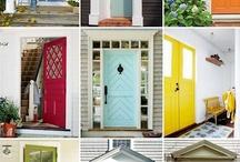 Paint-door color