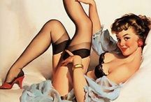 Vintage Pin Up Girls / by Leanne Moynihan