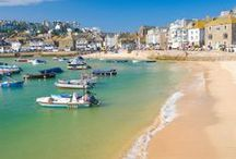 St Ives, Cornwall / A holiday in St Ives is should be on everyone's bucket list.  With a necklace of sandy beaches, quirky boutiques and a wealth of art galleries and history to uncover, guests of Carbis Bay Holidays will be delighted.  We offer a wide range of self catering apartments, cottages and homes. http://www.carbisbayholidays.co.uk