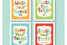 Kids Bathroom Ideas / The boys bathroom makeover