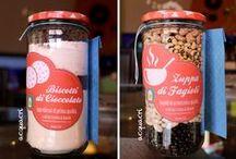 Ricette in barattolo | Recipe in jar / Preparati per fantastici piatti, dolci e salati, da conservare ed avere già pronti (ma non silo!!!!)o, meglio ancora, da regalare! Barattoli di idee speciali... / by Cristina Usai