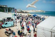 St Ives Food and Drink Festival / St Ives Food and Drink Festival is an annual event held in May, right on Porthminster Beach, St Ives.  It boasts a range of entertainment from cooking demos by celebrity chefs to theatrical and musical performances and superb competitions. A great few days out for all the family and Carbis Bay Holidays is proud to be the lead sponsor.   www.carbisbayholidays.co.uk  #StIvesFDFestival