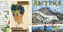 Travel Book / My travel sketches and collages. Зарисовки и коллажи из путешествий