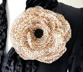 Our Everyday Collection / Fun flower rings, brooches and floral hair accessories for everyday... spicing up a work outfit, having lunch with friends or attending your little one's recital. They make great gifts, too! ✿ www.sadiebloomdesigns.com