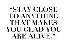 Words to Live By / by Gillian Sarofim