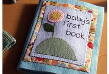 Quiet Books/Felt Crafts / This board is all about felt!