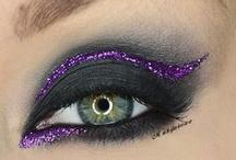 - glitter eyeshadow - / by Julie