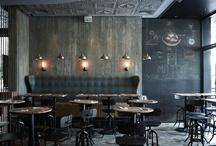 Café interiors