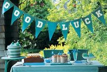 Graduation Party Ideas / by Christie Anscombe Donovan