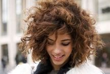 Curls & Waves / Styles for naturally curly hair and ways to achieve perfect voluptuous curls.