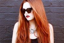 Fiery Reds / Capture your fierce spirit with a fiery shade of red to inspire your next coloring appointment.