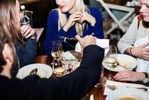 CLOSED DINNERT AT FASHION WEEK BERLIN A/W 2015 / Oh Fashion Week is such a busy and stressful. That's why we decided to have a cosy dinner in good company last night: We spend the evening with CLOSED family and friends at Katerschmaus - Fame...