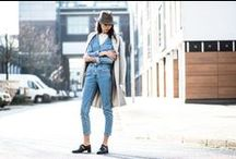 #DENIMLOVERS / Find another Denim to love! We had a great Streetstyle Shooting in Hamburg.... Have a look. Get your favorite look here: http://bit.ly/1zI4ud8  Pictures: Sandra Semburg / Styling:  Mira Uszkureit