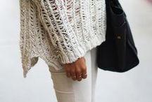 IVORY / Ivory knit inspirations xx