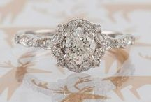 Engagement Ring Sparklers / From platinum to rose gold, princess-cut to cushion, pave to three-stone... a collection of swoon-worthy engagement rings!