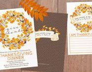 DIY Thanksgiving Invitations & Crafts