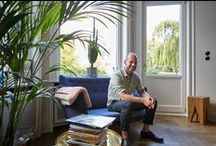 """TIL NADLER  HOME & WORKPLACE HAMBURG BY FVONF / What makes a living space a home? For Til Nadler (Managing Partner at Closed) there's no doubt: """"Well…that it's lived in,"""" he says, clearing a coffee cup from the counter into the sink. Indeed, Til is one of those people who truly see their apartments as living spaces, not mere design objects. Til gave 'Freunde von Freunden' a tour of his home and office in our recent trip to Hamburg. Please have come in… Read the complete interview: http://bit.ly/1LzeXQZ Photography: Jens Umbach"""