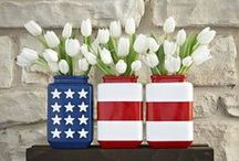 Patriotic / Cute ideas for the holidays celebrating our country and those who've served to protect it. #4thofJuly #MemorialDay #VeteransDay