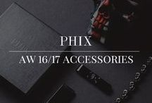 AW 16/17 Accessories / Studio Lookbook shots for the Phix Clothing AW 16/17 skull accessories collection.