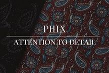 AW 16/17 Attention To Detail / Garment details from the Phix Clothing AW 16/17 collection.