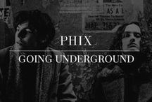 Going Underground / Autumn/Winter 16/17 is the rebirth of Phix . This collection was about capturing our love for british tailoring, rock n roll and vintage inspired clothing. We headed to the Underground of London to capture the new collection.