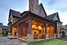 Dream Rustic Style Home / Ideas for a country, rustic themed home