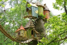Treehouses / by Kelly Flom