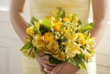 Yellow Weddings / A variety of wedding, shower, and party ideas in yellow and gold shades, tints, and color palettes. #yellow #gold #wedding #party #shower / by Something Floral™