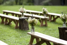 Rustic Weddings / A variety of rustic wedding ideas.
