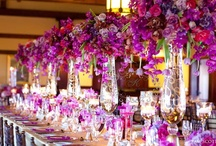 Tall Centerpieces / A variety of ideas and inspiration for tall floral centerpieces. #flowers #floral #centerpieces #arrangements #wedding #party #ceremony #reception