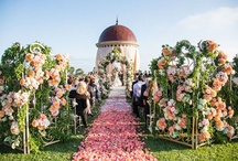 Ceremony Decor / A variety of ceremony decor for aisles, arches, chuppahs, mandaps, churches, altars, etc. / by Something Floral™