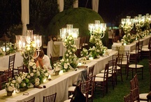 Reception Decor / A variety of wedding reception, party, and shower decor ideas, styles, and elements.