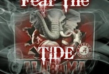 Crimson Tide Football! / by Karla Liepelt