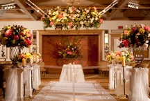 Hanging Flowers & Floral Chandeliers / #hanging #flowers #floral #chandeliers #decor #wedding #party #reception #ceremony / by Something Floral™