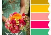 Event Color Palettes / A board that showcases a variety of color combinations and color palette options for weddings, showers, engagement parties, and other special events. #wedding #bridal #shower #anniversary #vow #renewal #party #parties #event #special #events #weddings #color #palette #scheme #ideas