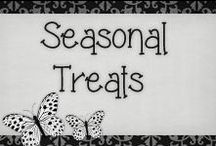 › Seasonal Treats. / › delicious treats for kids to make during the holidays!