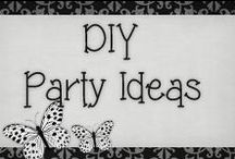 › DIY Party Ideas. / › from centerpieces to food tables and lots of decorations ideas, enjoy!