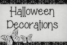 › Halloween Decorations. / › really great ideas to decorate the house for halloween!