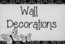 › Wall Decorations. / › beautiful wall decorations i would love to try at home, some simple to do some not, but i'm willing to try ^_^