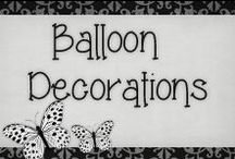 › Balloons Decorations. / › Very cute balloon decoration for all occasion, I personally know how to do them, it's very easy and looks great as decorations! ^_^
