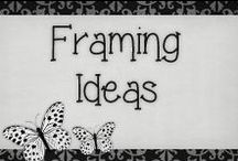 › Framing Ideas. / › framing ideas i will put to work for my living room and rooms in my house... very cute ideas!