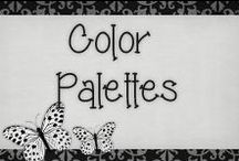 › Color Palletes. / › beautiful color palletes, some of them i used or might use on my scrap kits!